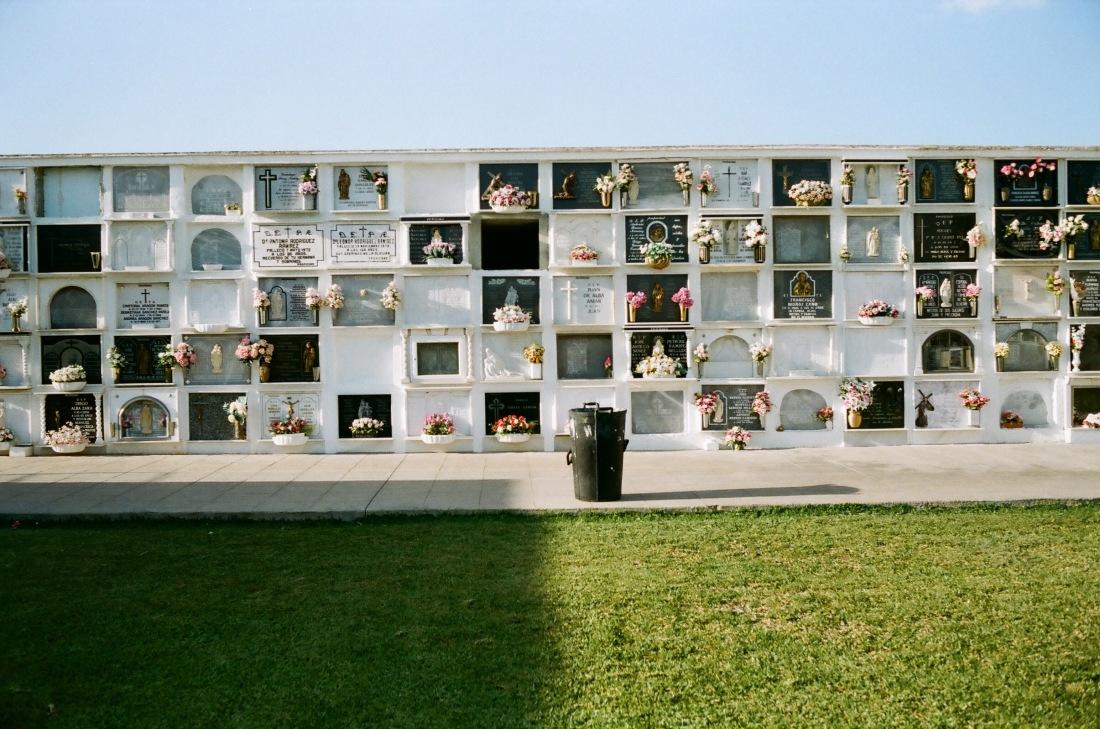 Cemetery in Conil de la Frontera/ Andalucia