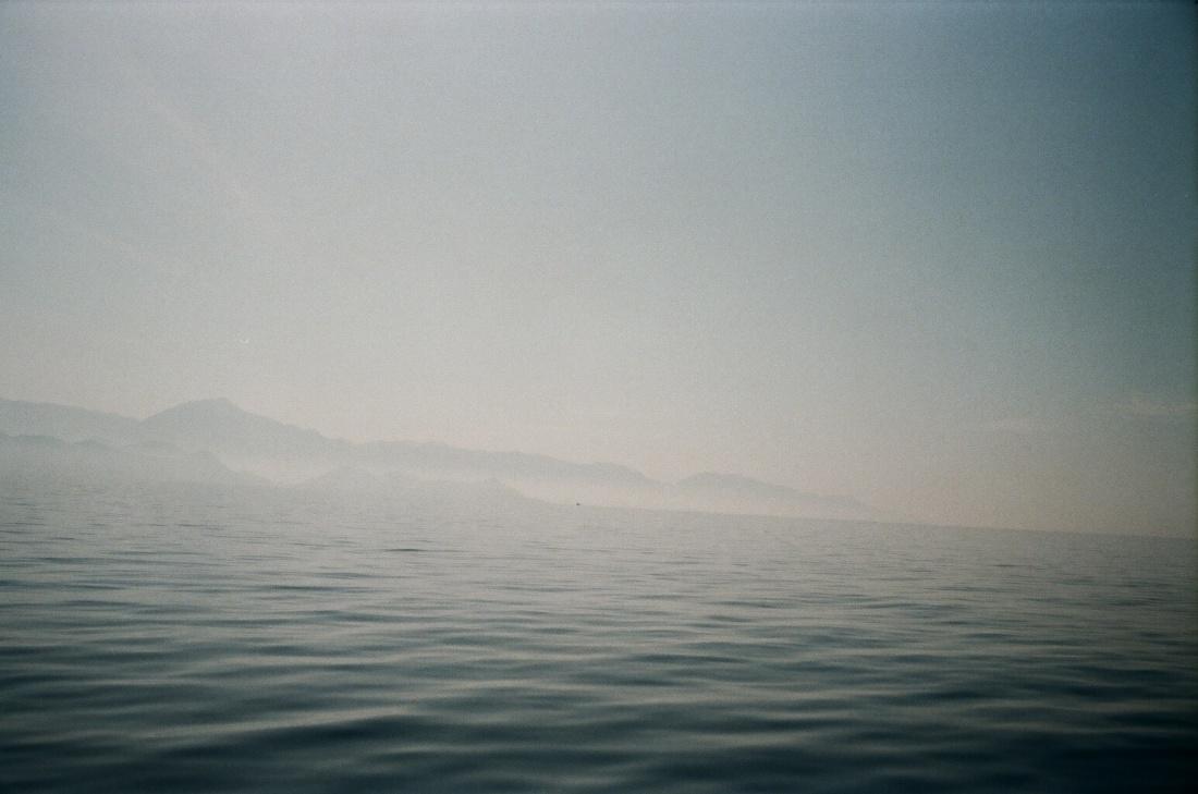 Meer foggy